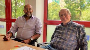Gesundheitsberater Dr. El Karkani und Prof. Bode