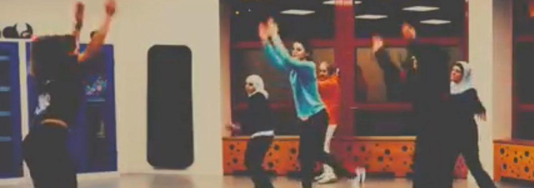 Frauen tanzen im Haus Vielinbusch