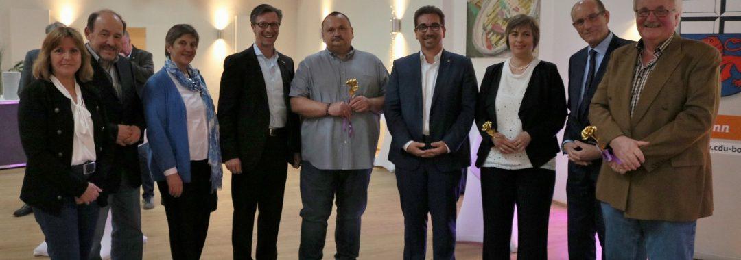 Gewinner der goldenen Rose mit dem CDU Ortsverband