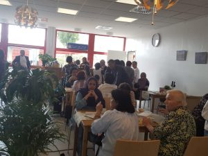 Eröffnung Café im Zentrum