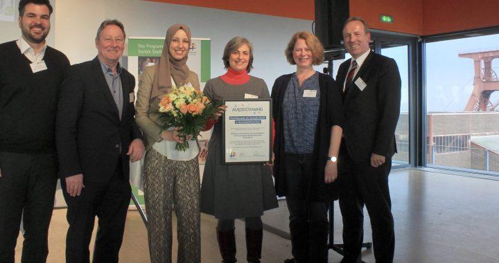 Auszeichnung Haus Vielinbusch als Vorbildprojekt Soziale Stadt NRW