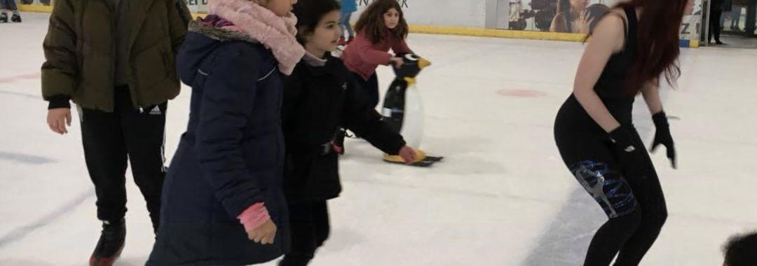 Schlittschuhlaufen Winterferienprogramm